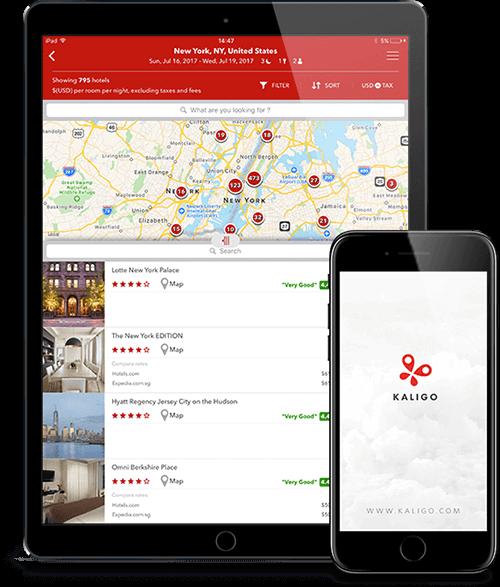 Kaligo - 550,000 Hotels  Incredible Rewards